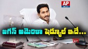 AP CM YS Jagan America Tour Schedule  [HD] (Video)
