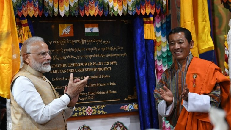 Modi launches slew of projects to expand India-Bhutan ties