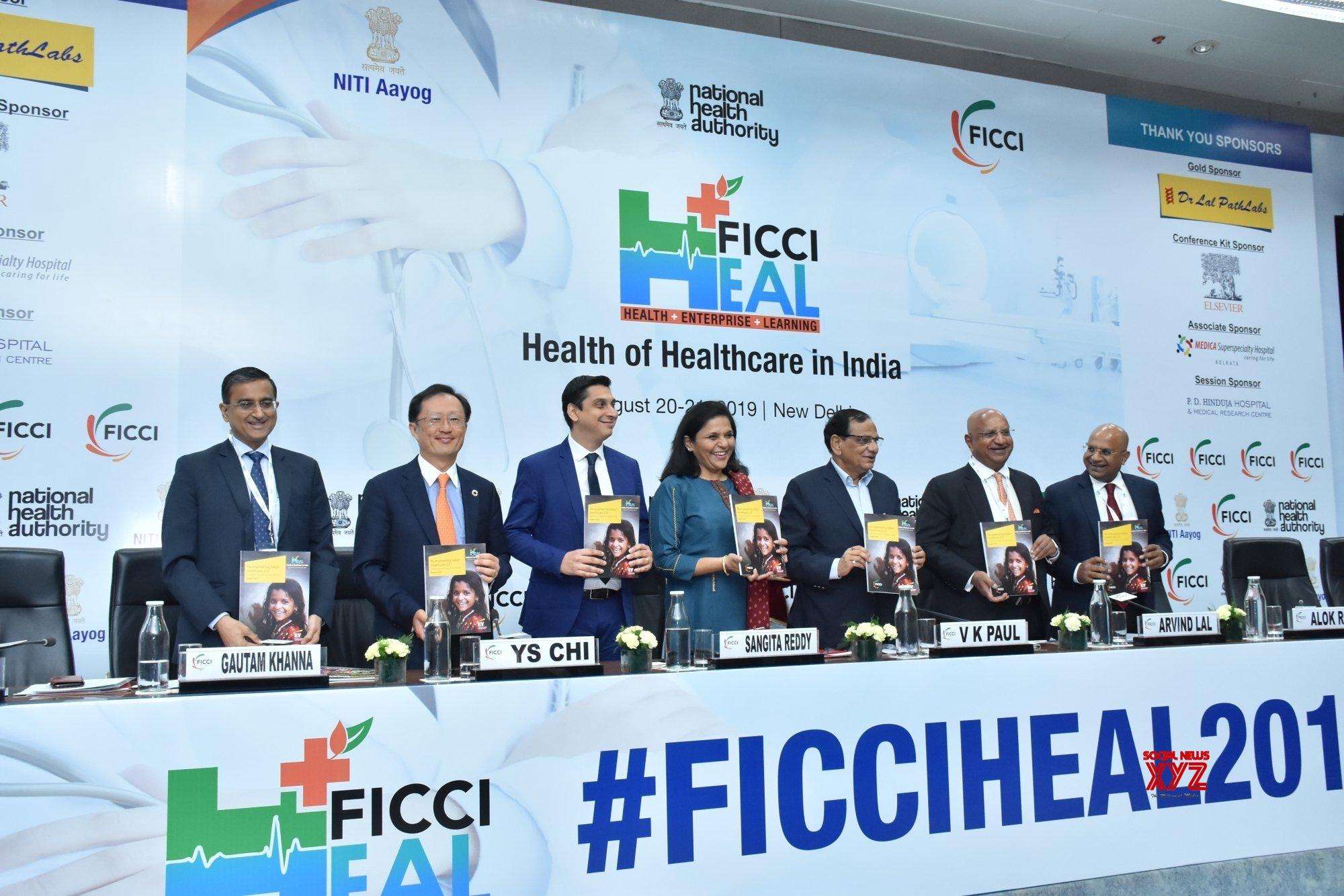 New Delhi: 'FICCI HEAL 2019 - Health of Healthcare in India' #Gallery