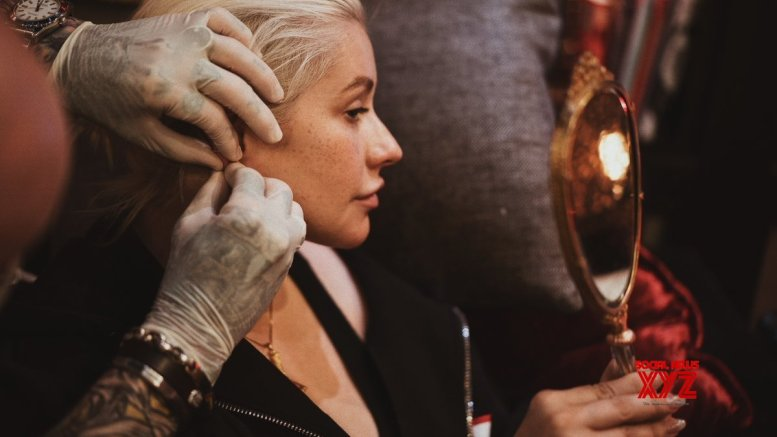 Christina Aguilera, fiance make rare public appearance