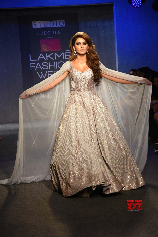 Mumbai: Lakme Fashion Week Winter/Festive 2019 - Urvashi Rautela #Gallery