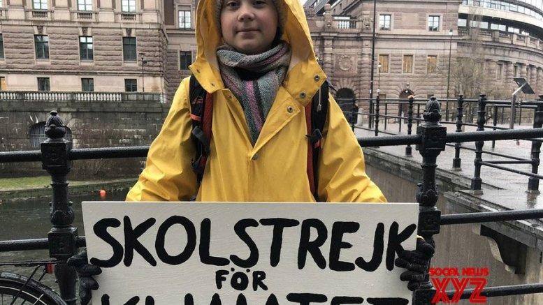Greta Thunberg addresses gathering outside White House