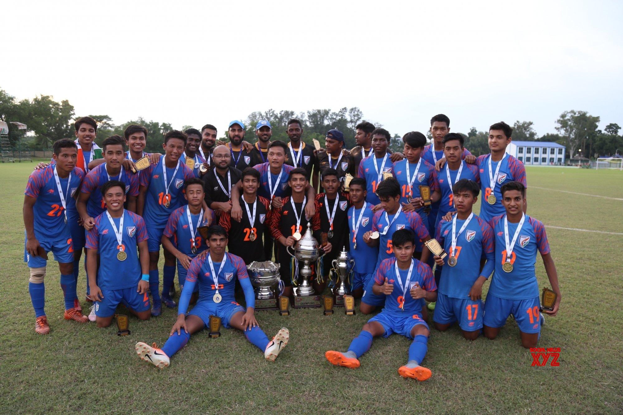 Kalyani (West Bengal): India lifts SAFF U - 15 Championship title #Gallery