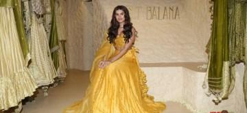 Mumbai: Actress Tara Sutaria at the launch of fashion designer Punit Balana's first flagship store, in Mumbai on Aug 30, 2019. (Photo: IANS)