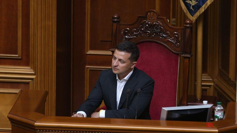Ukrainian president thanks US for unblocking military assistance