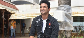 "Mumbai: Actor Sushant Singh Rajput at the promotion of upcoming film ""Chhichhore"" in Mumbai on Aug 25, 2019. (Photo: IANS)"