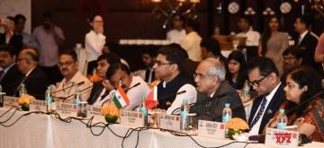New Delhi: NITI Aayog Vice Chairman Rajiv Kumar at the Sixth India-China Strategic Economic Dialogue in New Delhi on Sep 9, 2019. (Photo: IANS/PIB)