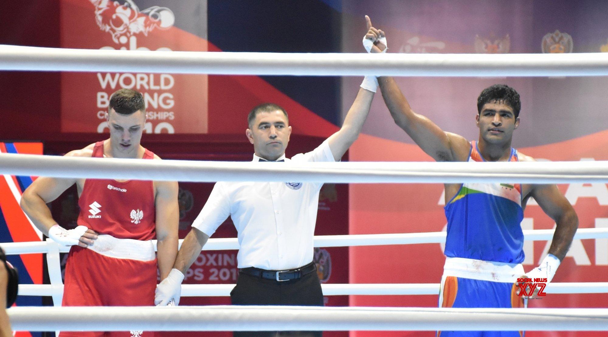 Brijesh Yadav enters Round 2 of World Boxing Championships