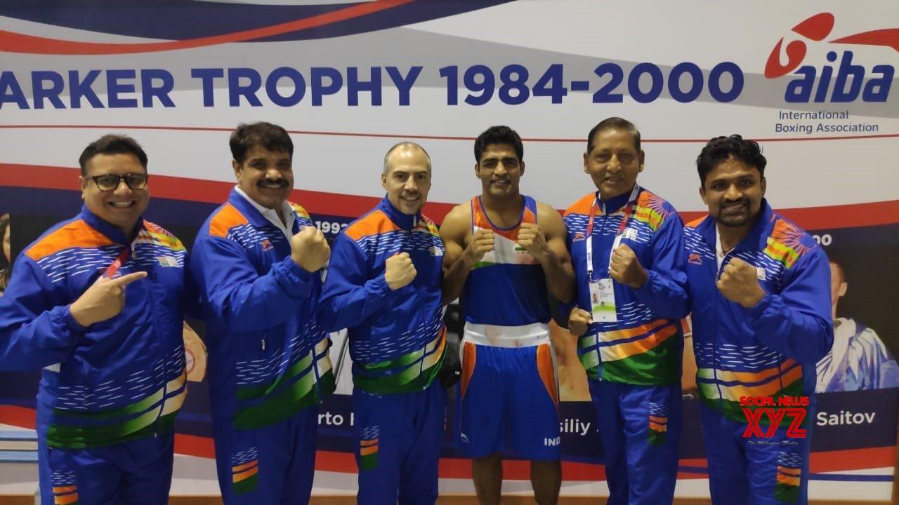 Ekaterinburg (Russia): AIBA Men's World Championships - Brijesh Yadav Vs Maleusz Goinski #Gallery