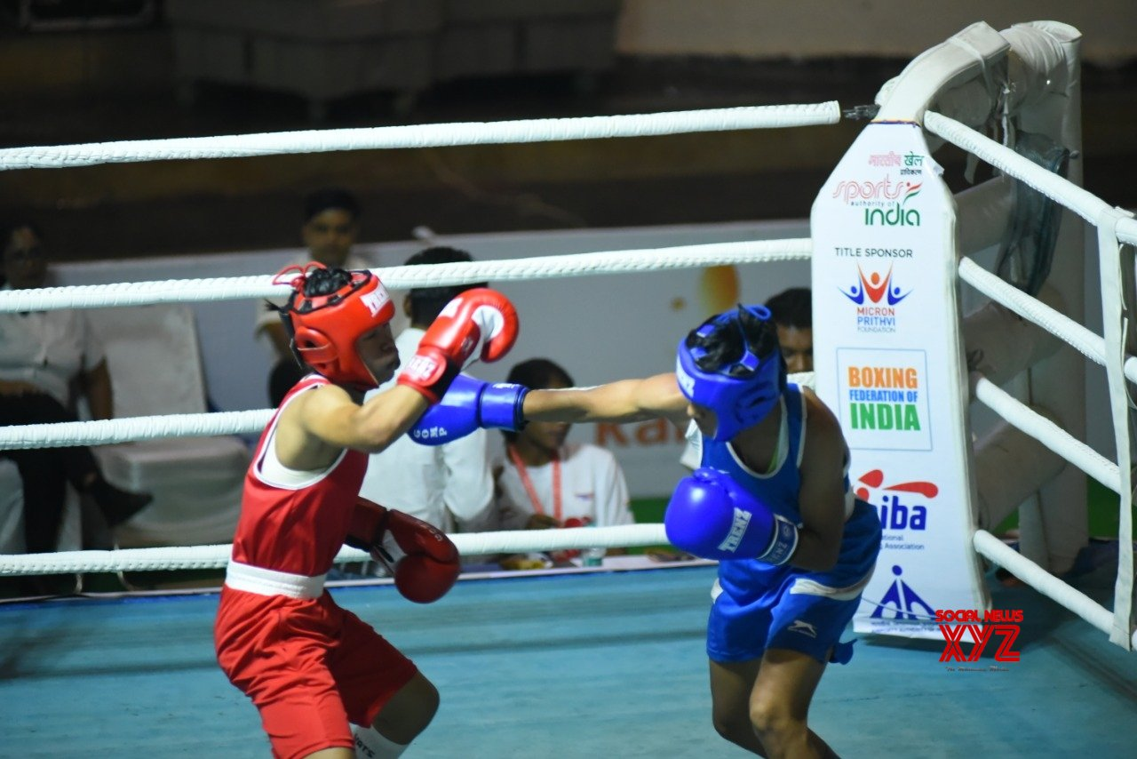 Rohtak: Junior Women's National Boxing Championships - Preeti Dahiya Vs Gagandeep Kaur #Gallery