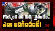 One died in a road accident under Golconda PS limits - TV9 [HD] (Video)
