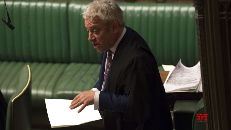 UK Speaker pledges 'creativity' to stop no-deal Brexit