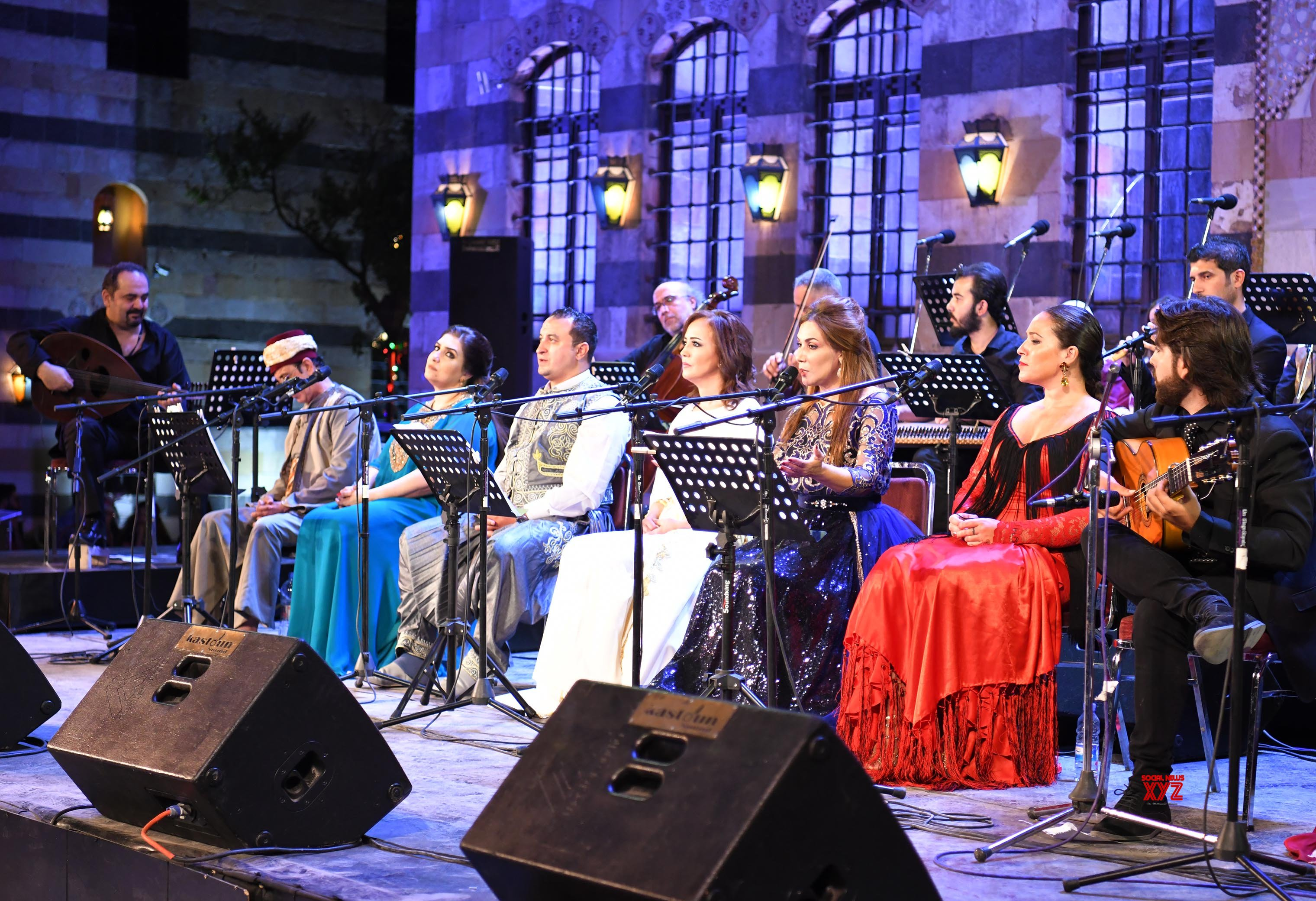 SYRIA - DAMASCUS - FOLKLORIC CONCERT #Gallery