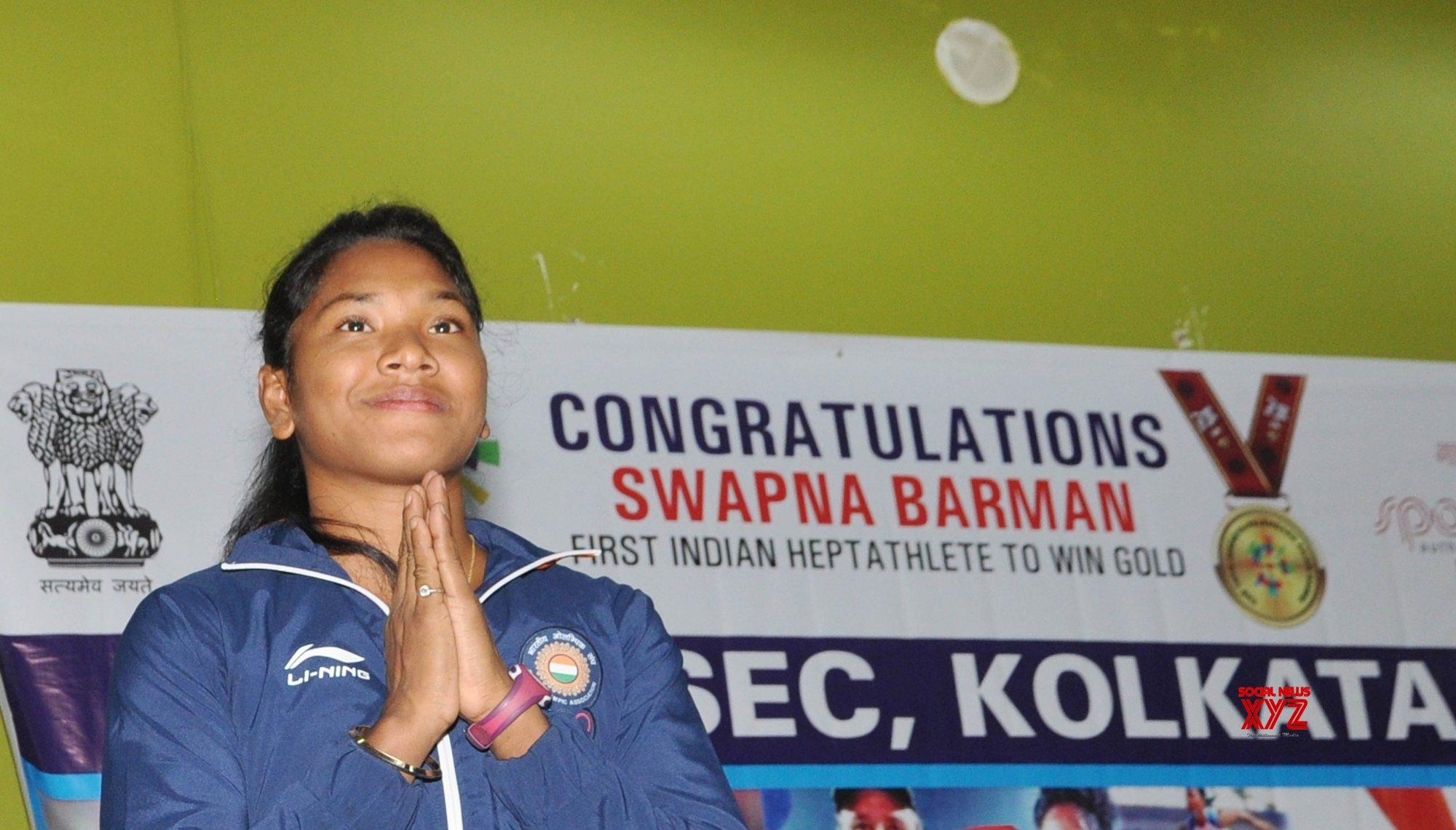 Swapna Barman gears up for 2020 Olympics