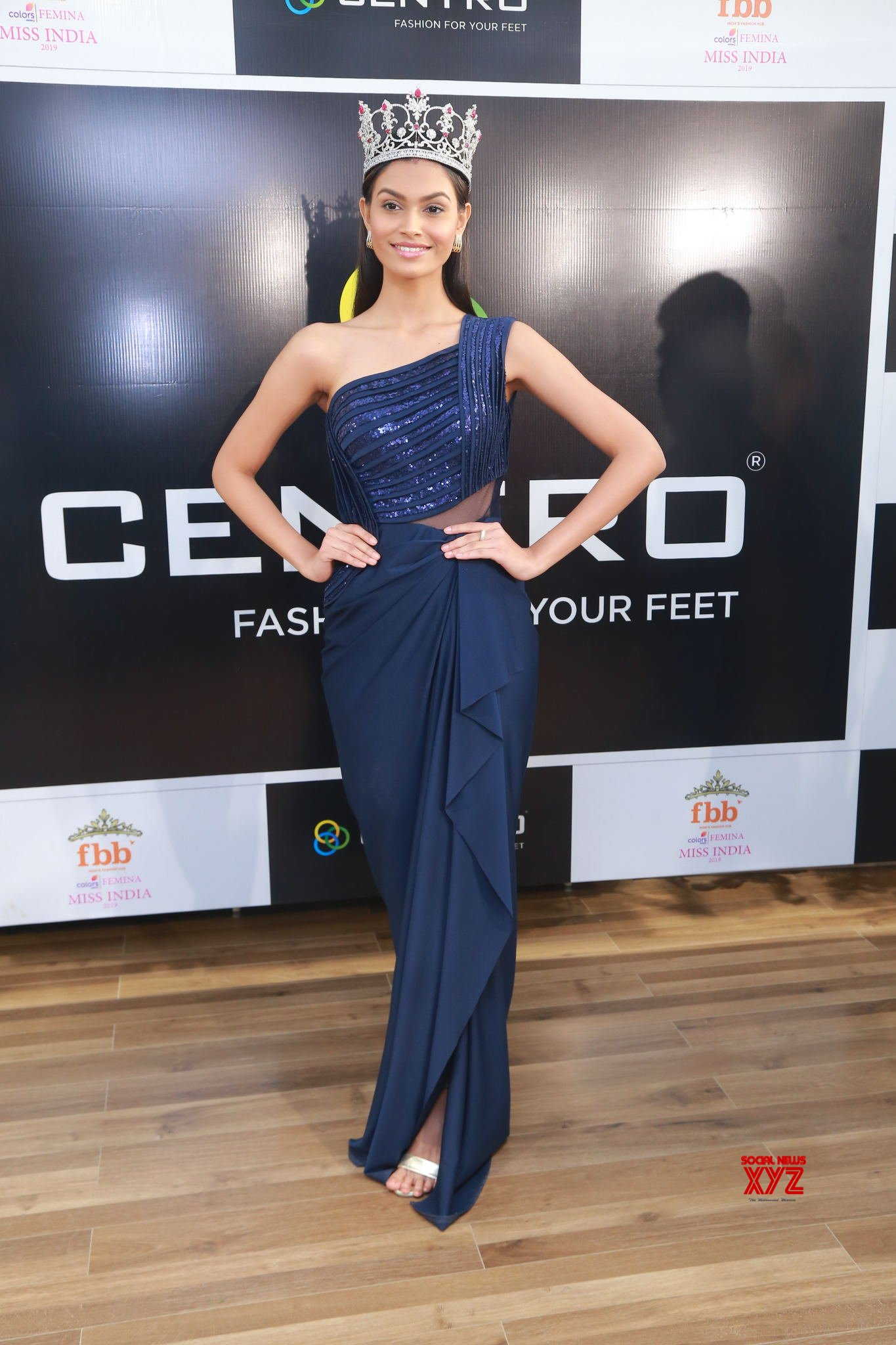 Miss India 2019 Ms Suman Rao Launched New Wedding And Festive Footwear Collection At Centro - Gallery