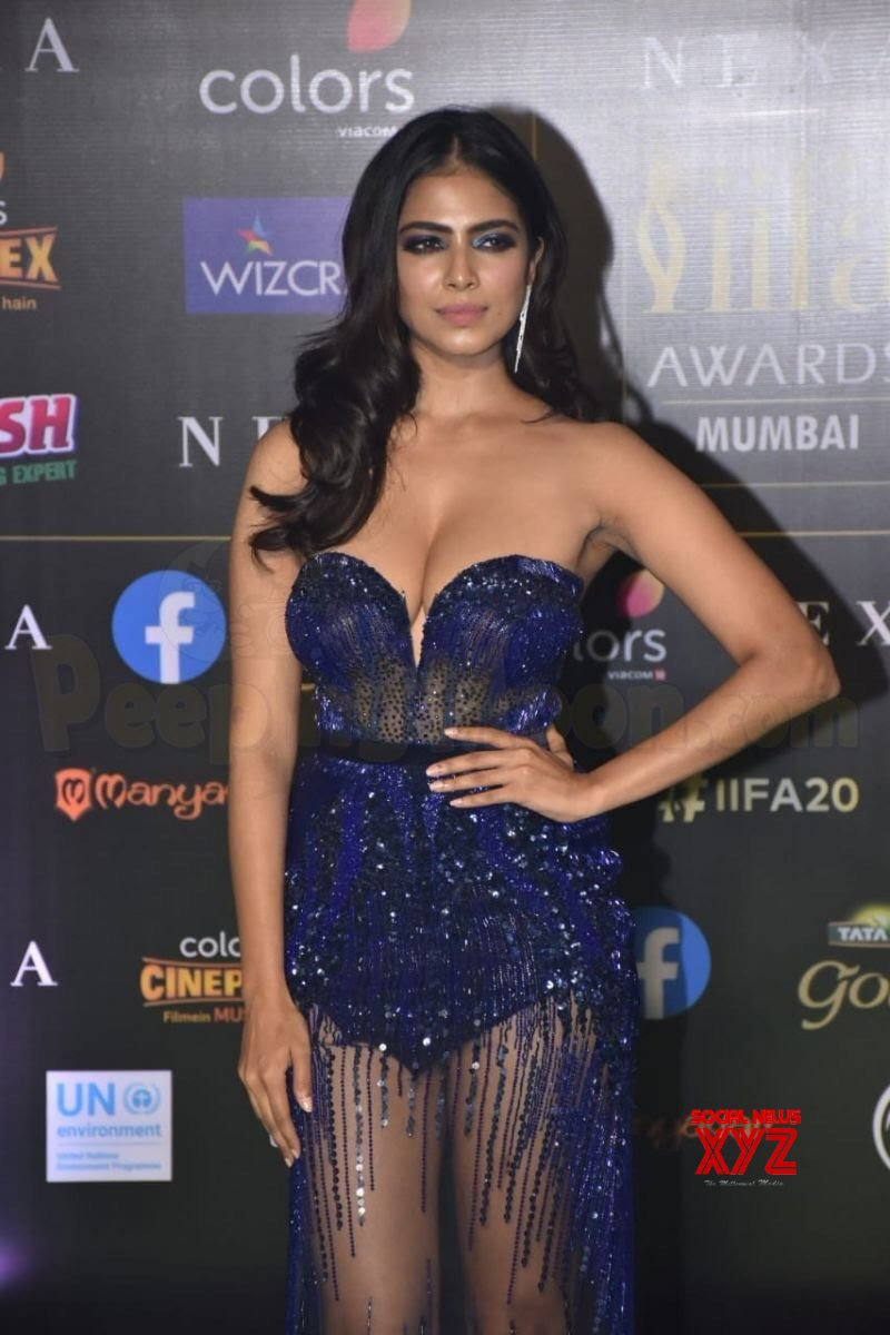 Actress Malavika Mohanan Super Hot HD Stills From IIFA 2019