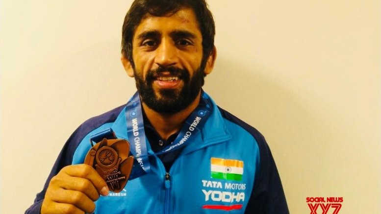Bajrang tips Indian wrestlers to win 3-4 medals at Tokyo Olympics