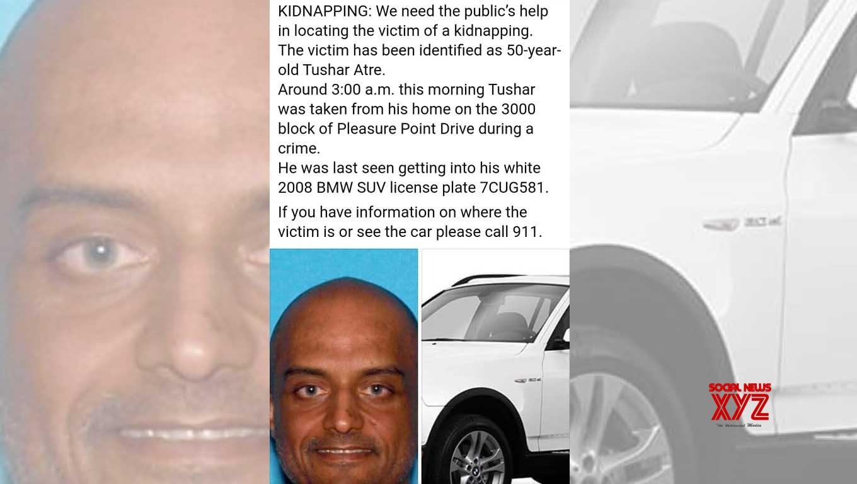 Kidnapped Indian-origin millionaire Tushar Atre found dead in US
