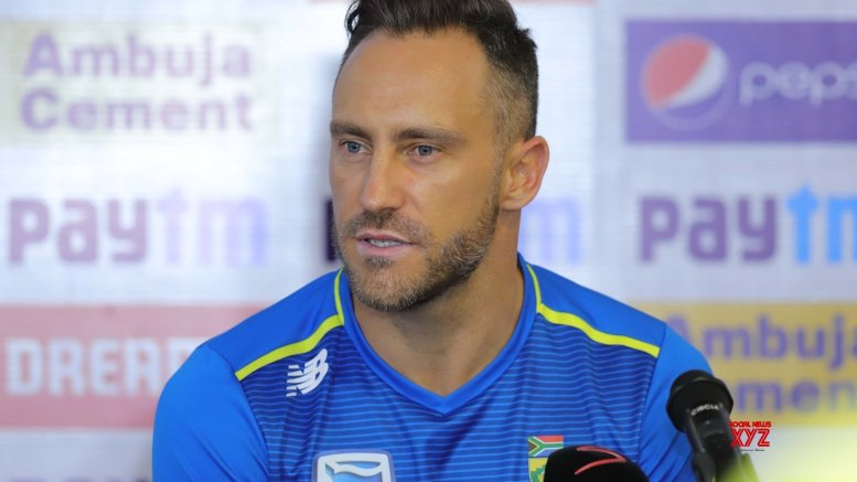 Used to taking bit of spit on fingers before I catch the ball: du Plessis