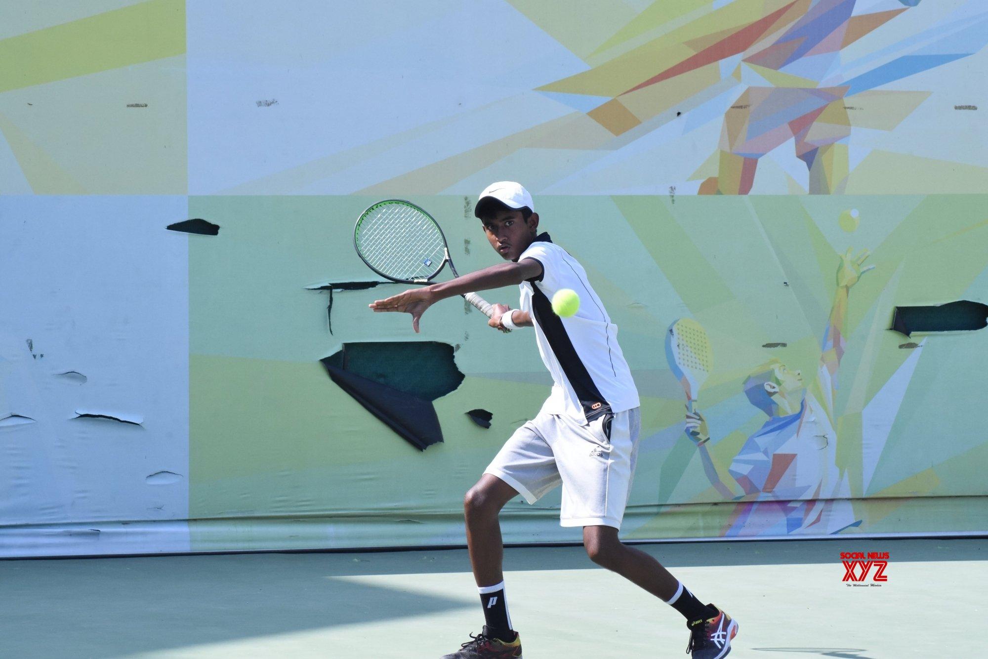 New Delhi: Fenesta Open Junior National Tennis Championship - Arunava Majumdar Vs Shafaat Ali Asghar #Gallery