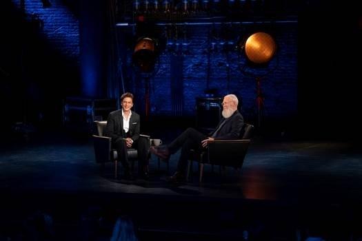 SRK's episode with David Letterman on October 25