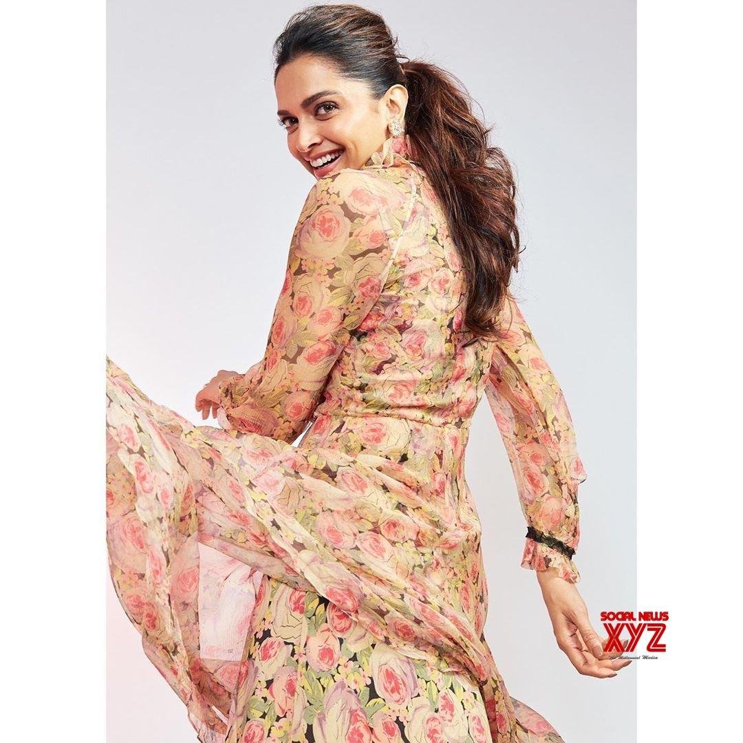 Actress Deepika Padukone Jolly New Stills