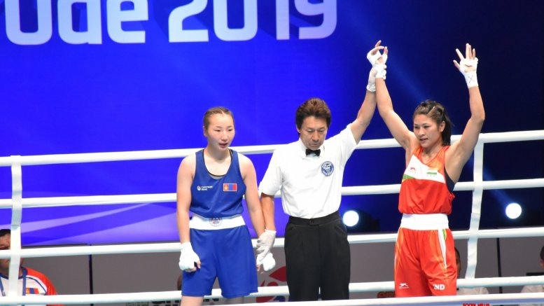 Jamuna Boro through to World Championships quarters