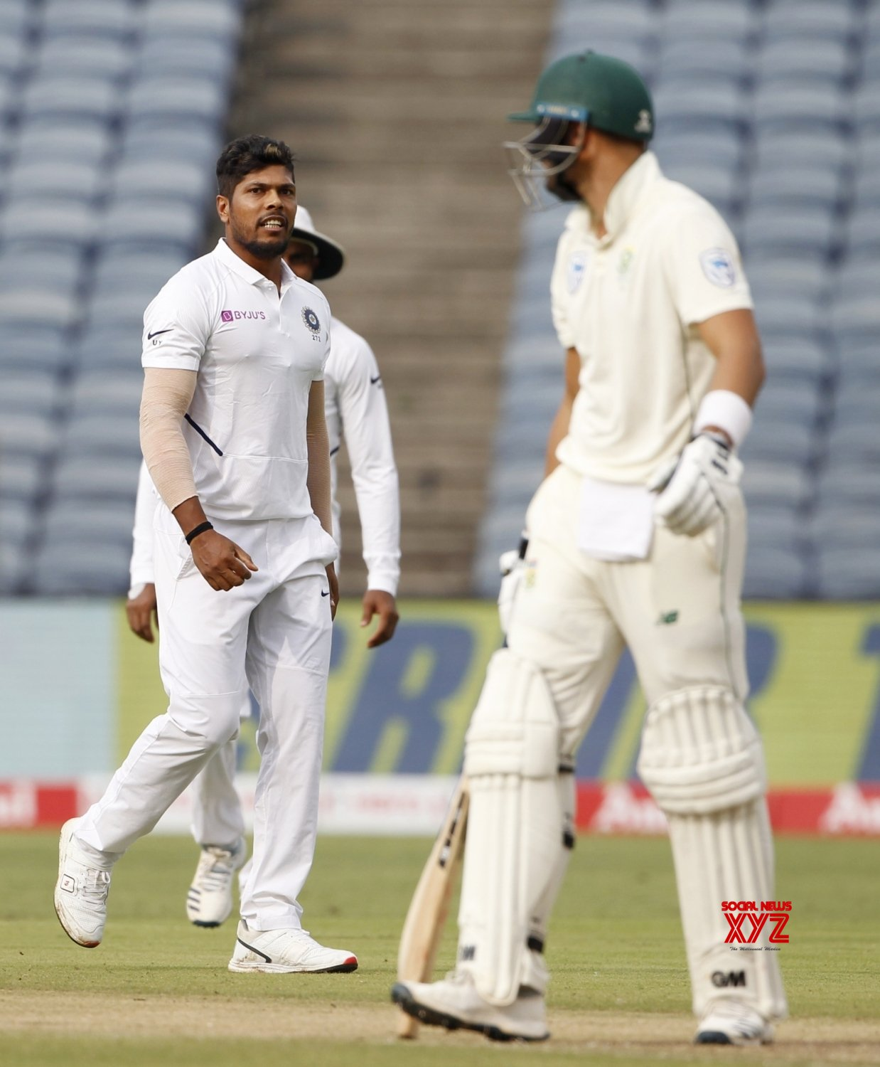 Pune: 2nd Test - India Vs South Africa - Day 2 (Batch - 19) #Gallery