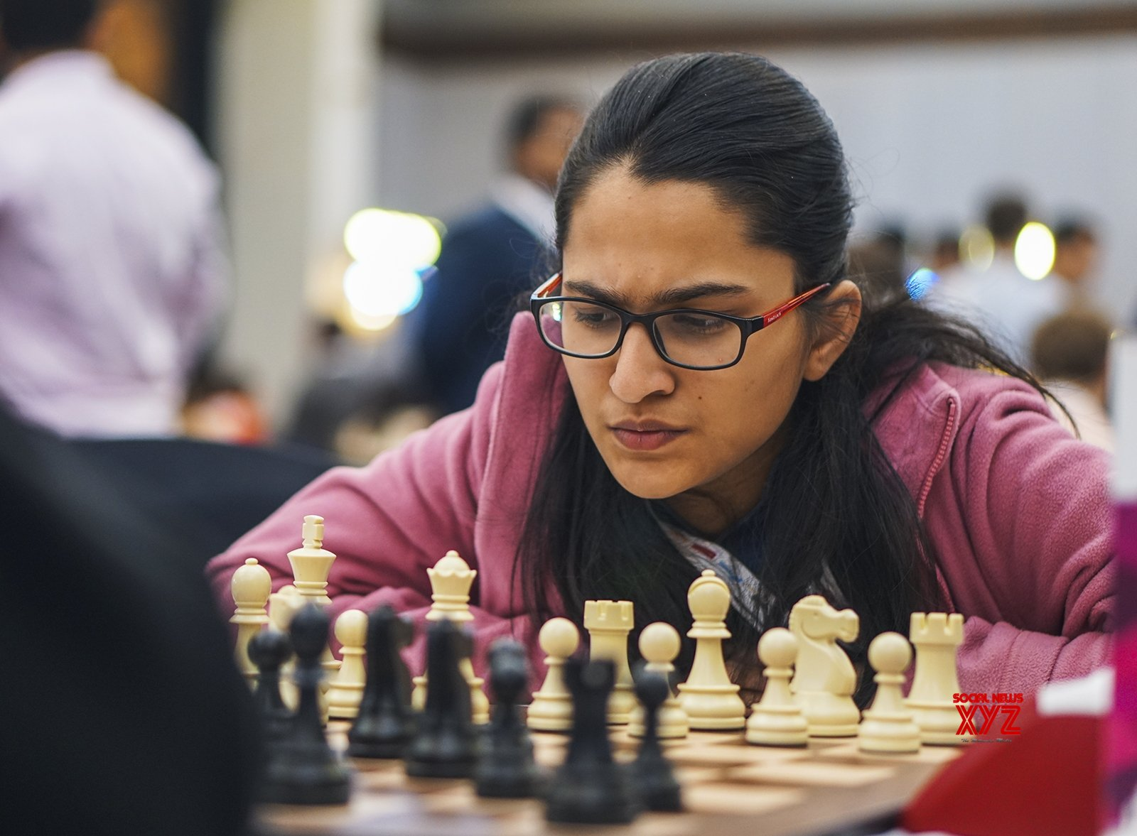 Mumbai: World Youth Chess Championship 2019 - Vantika Agrawal #Gallery