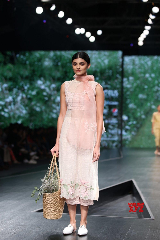 New Delhi: Lotus Make - up India Fashion Week - Nithya Reddy's creations showcased on Day 3 #Gallery