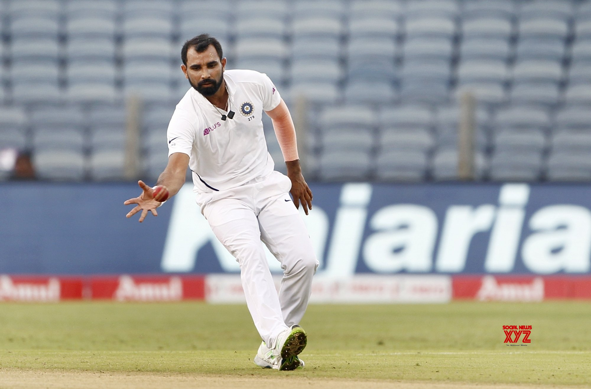 Pune: 2nd Test - India Vs South Africa - Day 2 (Batch - 24) #Gallery