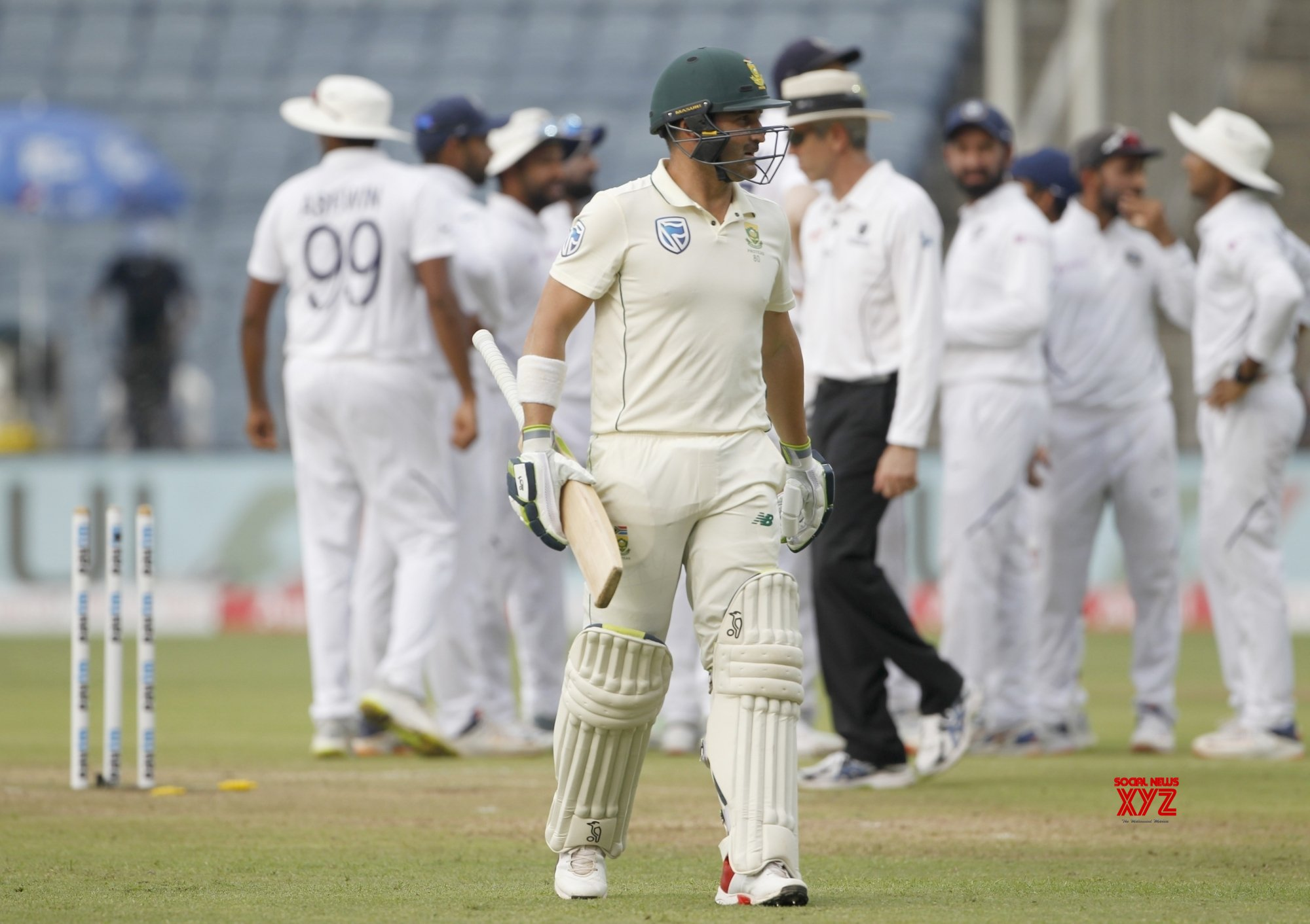 Pune: 2nd Test - India Vs South Africa - Day 2 (Batch - 22) #Gallery