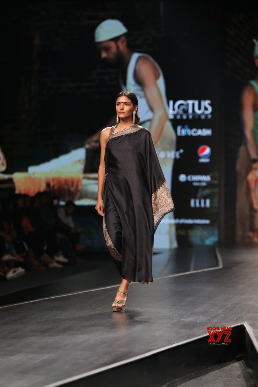 New Delhi: Lotus Make - up India Fashion Week - Rahul and Anushka's creations showcased on Day 3 #Gallery