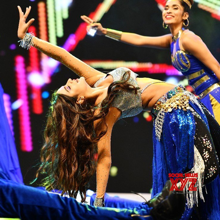 Actress Nidhhi Agerwal Hot Stills From SIIMA 2019 Dance Performance