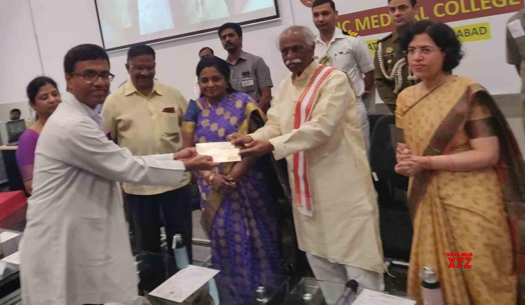 Hyderabad: Tamilisai Soundararajan, Bandaru Dattatreya at ESIC Medical College and Hospital #Gallery