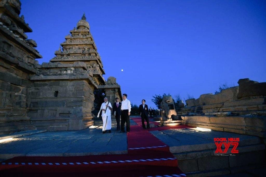 Mahabalipuram: PM Modi, Chinese President visit Shore Temple #Gallery