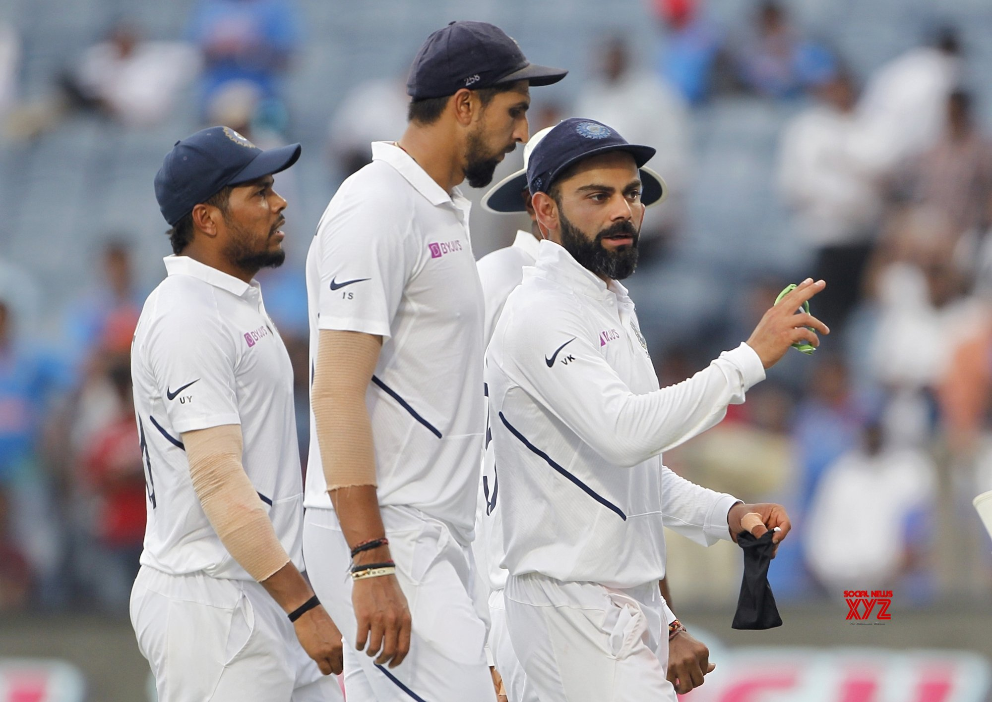 Pune: 2nd Test - India Vs South Africa - Day 2 (Batch - 25) #Gallery