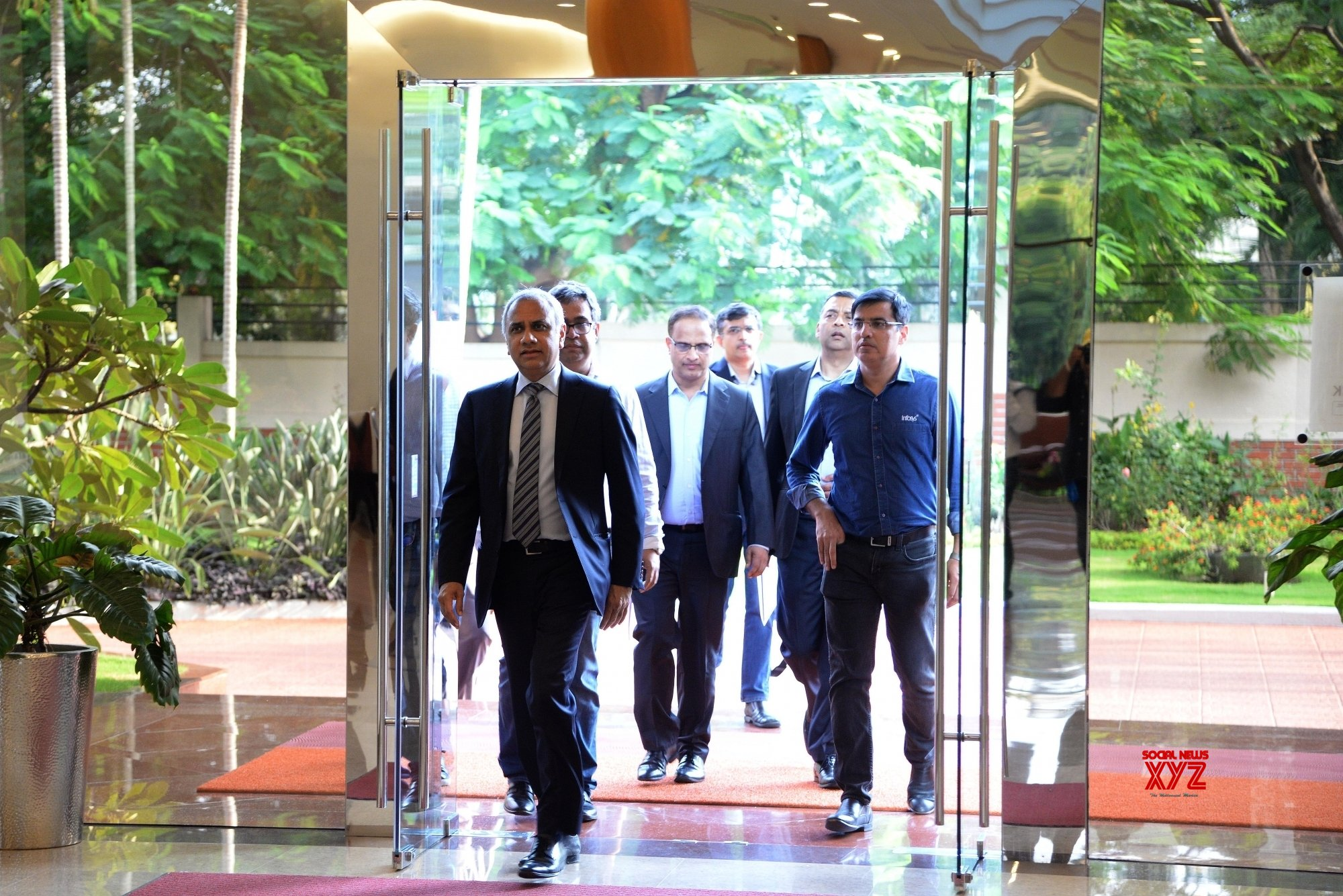 Bengaluru: Infosys announces Q2 results #Gallery