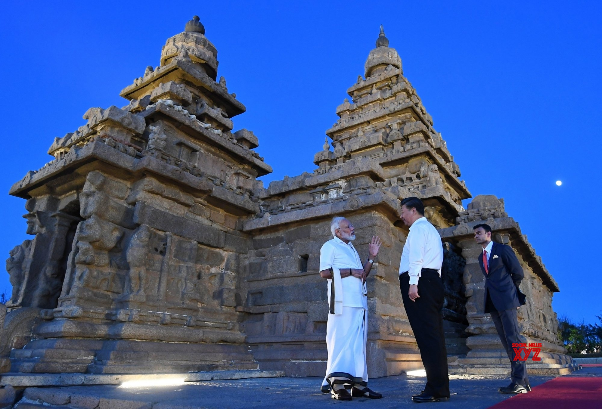 Mahabalipuram: PM Modi, Chinese President visit Shore Temple (Batch - 2) #Gallery
