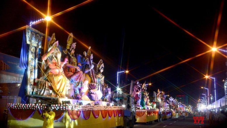 Environment to NRC highlights of Kolkata Durga carnival