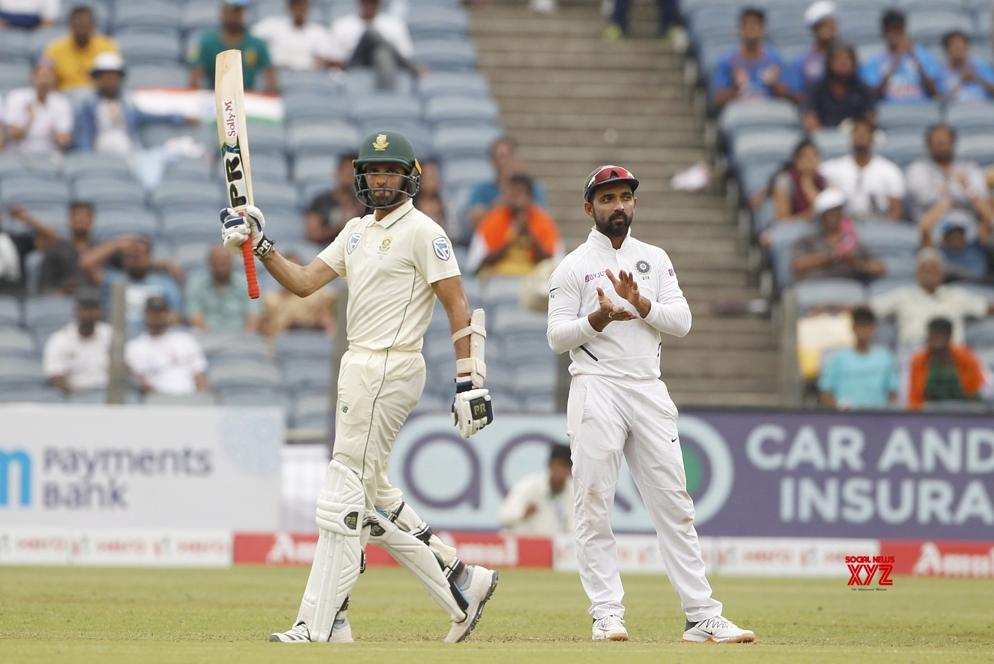 Pune: 2nd Test - India Vs South Africa - Day 3 (Batch - 18) #Gallery