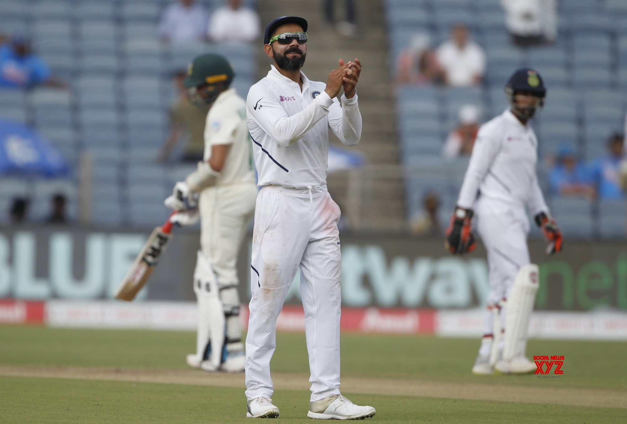 Pune: 2nd Test - India Vs South Africa - Day 3 (Batch - 17) #Gallery