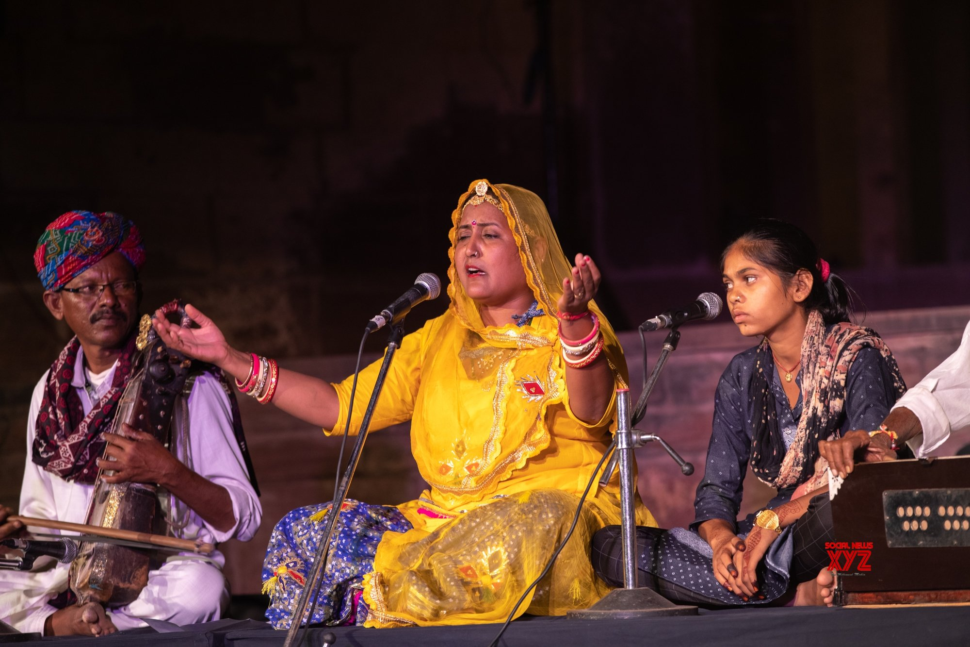 The womanly voices of Rajasthani folk