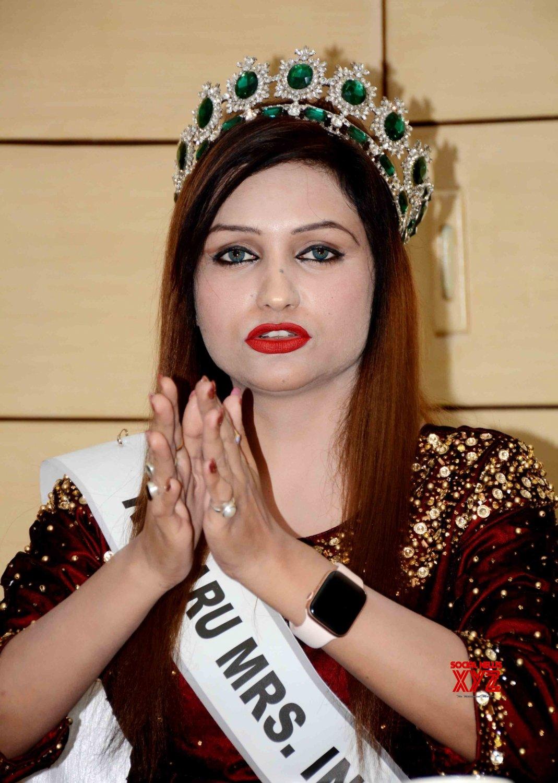 Patna: Rubaru Mrs. India Tara Shweta Arya at a press conference #Gallery