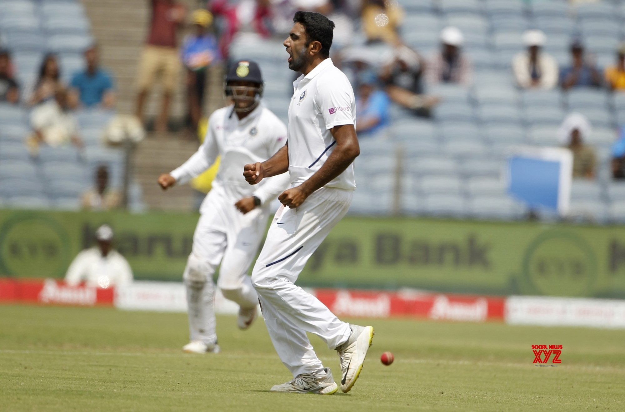 Pune: 2nd Test - India Vs South Africa - Day 3 (Batch - 14) #Gallery