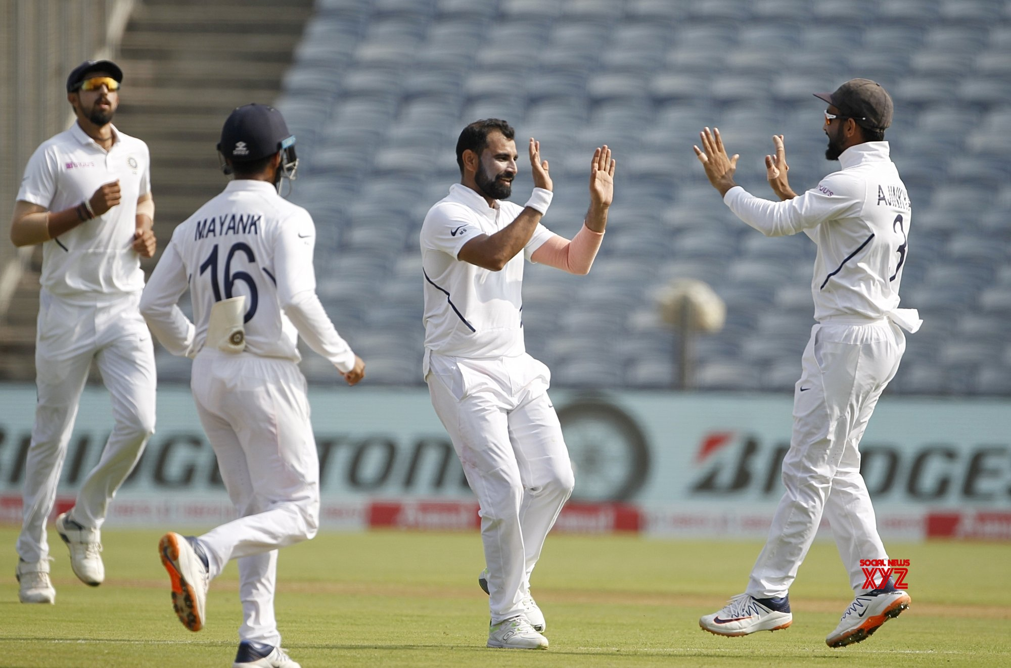 Pune: 2nd Test - India Vs South Africa - Day 3 (Batch - 2) #Gallery