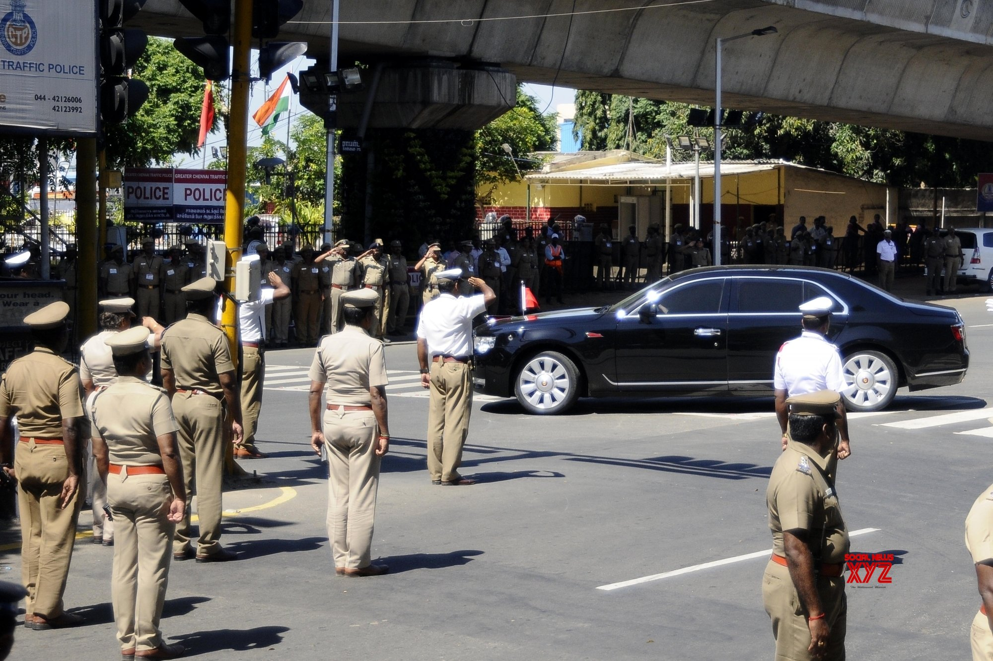 Chennai: Security beefed up at Chennai Airport #Gallery