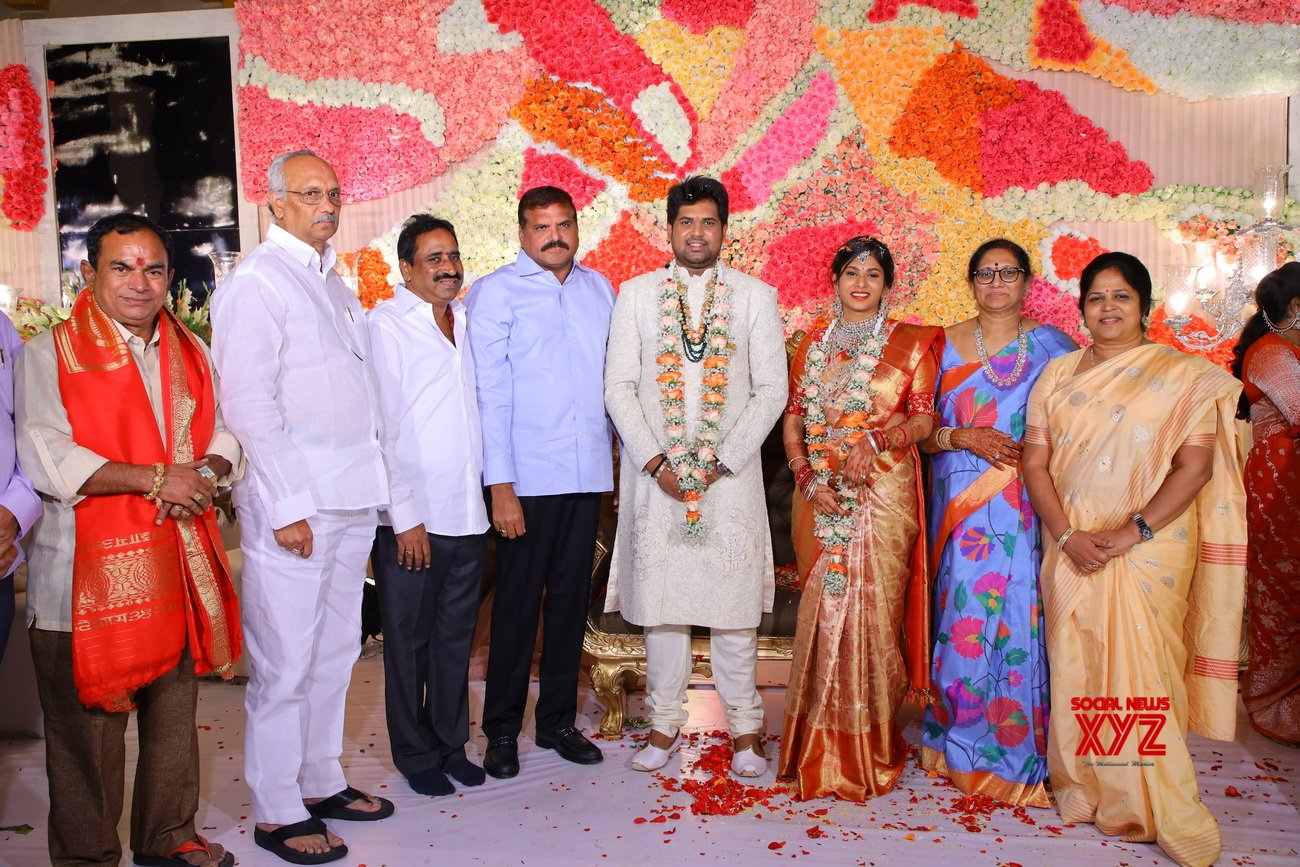Celebs At Kodi Ramakrishna's Second Daughter Kodi Pravalika's Engagement - Gallery
