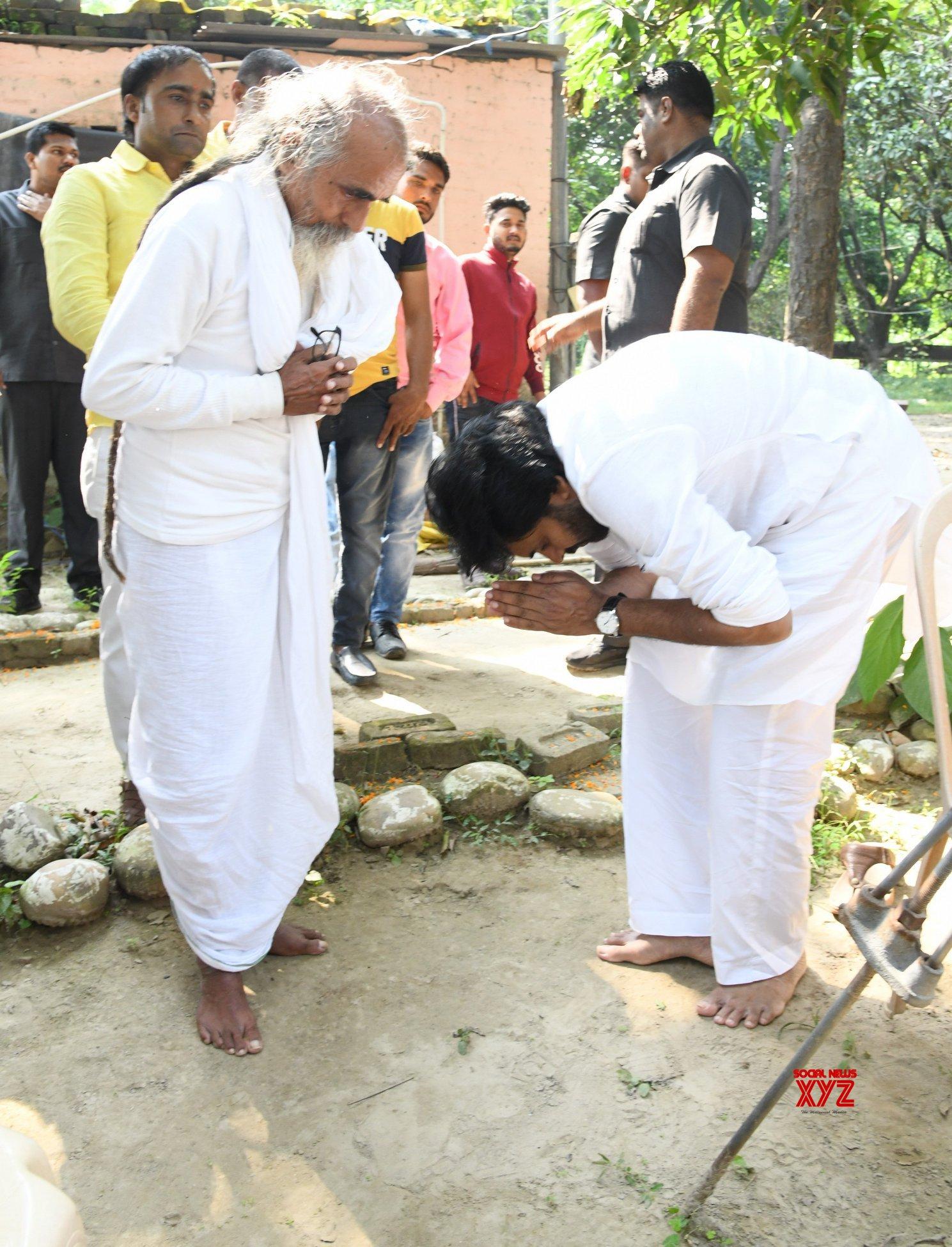 JanaSena Chief Pawan Kalyan Matri Sadan Ashram In Haridwar - Gallery