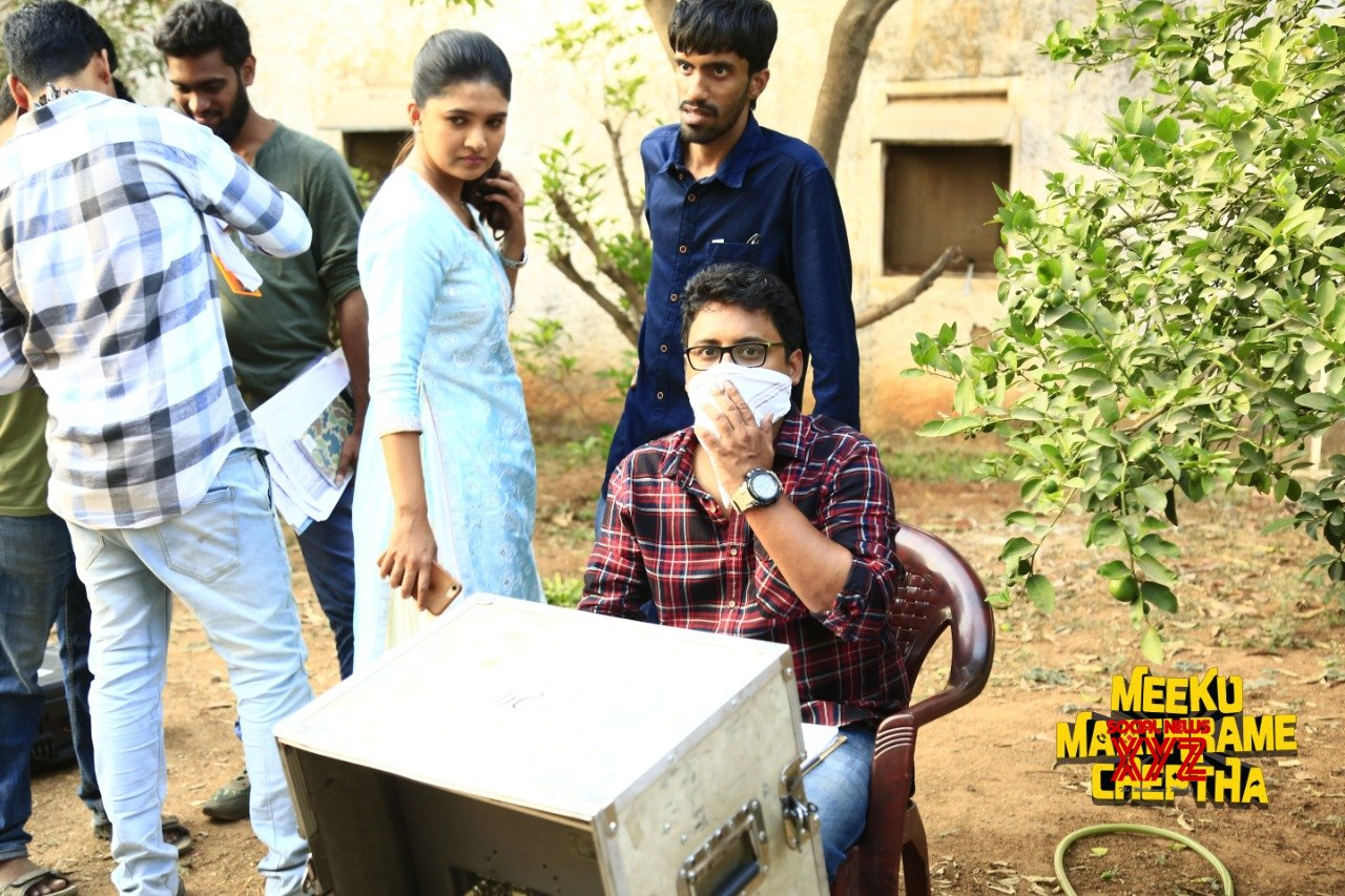 Tharun Bhascker's Meeku Maathrame Chepta Movie Working Stills